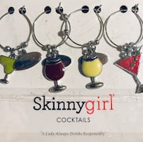New wine glass charms from Skinnygirl