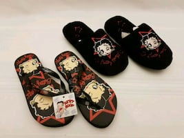 Betty Boop Women's Slippers Flip-Flops