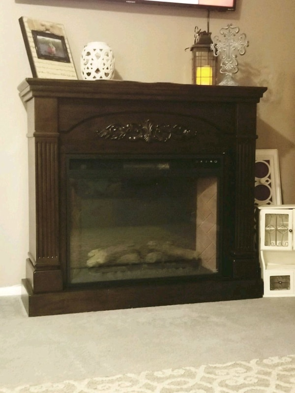 Fine Electric Fireplace Mantel Home Interior And Landscaping Synyenasavecom