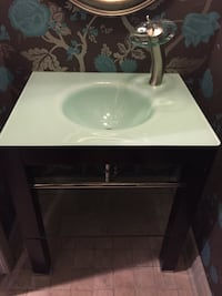 Bathroom vanity with sink and faucet Toronto, M5J 2Y4