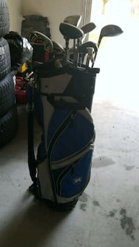 black and blue golf bag Georgetown, 78626
