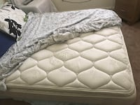 white and gray floral mattress Virginia Beach, 23462