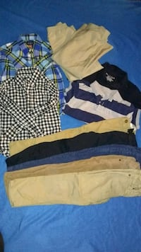 Boys 5/6 dress code approved lot Plymouth