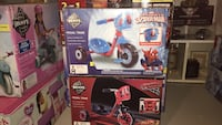 Cars or Spider-Man huffy new Chattanooga, 37421