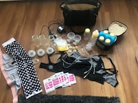 Used medela instyle pump with tons of extras Victoria, V8T