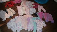 Baby girl clothes 0 to 3 months