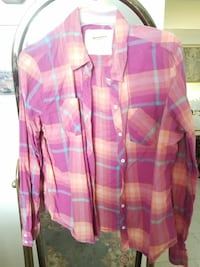pink plaid flannel from JCPenney Fairview, 07022