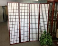 Brand New 4 Panel Cherry Wood Room Divider  Silver Spring, 20902