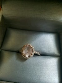 silver and diamond ring with box Alexandria, 22304