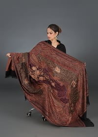 Shawl Embroideredfrom Women's Jamawar Shawls Collection Maryland