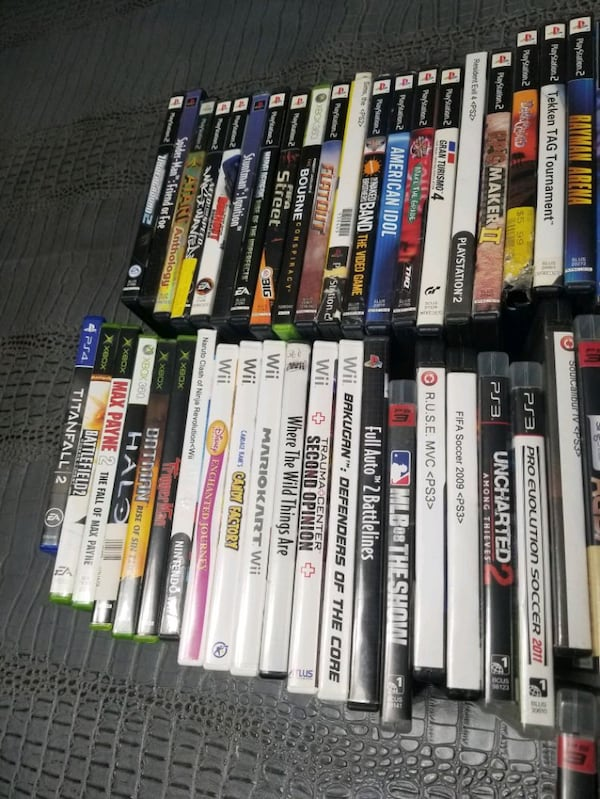 1$ EACH - 60+ Assorted Video Games!  1
