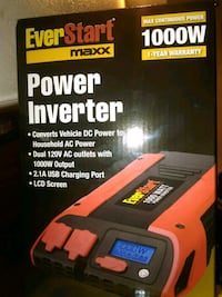 Never opened.... OBO Inverter 1000 W Indianapolis, 46227