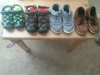 toddler's four pairs of shoes Elgin, 29045