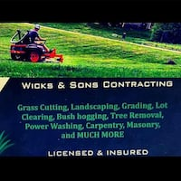 Lawn mowing North Dinwiddie