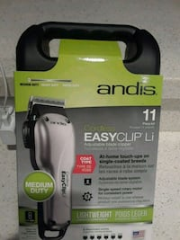 ANDIS PET CLIPPER CORDLESS. LIGHTWEIGHT 11 PIECES. Los Angeles, 90004