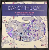 Day of the Cat Coloring Book Melbourne, 32935