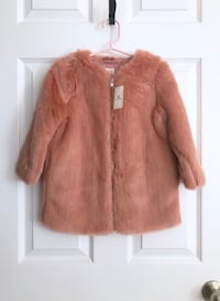 Gap toddler girls faux fur coat size 3T Mississauga, L5M 0H2