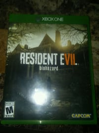Resident evil biohazard xbox one game Knoxville, 37931