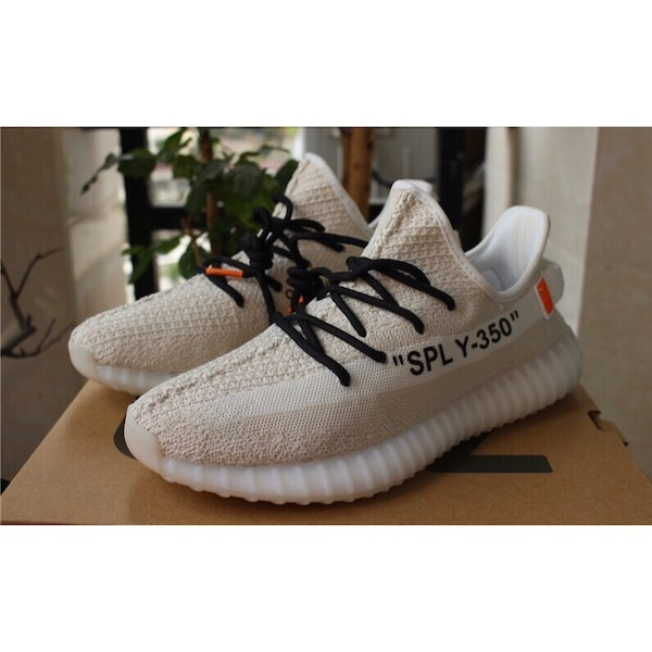 afcf00d98 Used pair of cream white Adidas Yeezy boost 350 v2 with box for sale in  Parkton - letgo