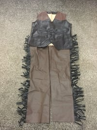 Boys 2pcs. Cowboy Costume size 10-12 (one button missing on the bottom of vest, not very noticeable)  Milton, L9T 2R1