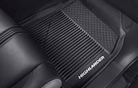 Toyota 4 new black all weather floor mats Newton