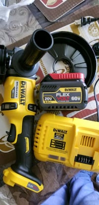 yellow and black Dewalt cordless power drill Arlington, 22207