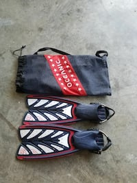 Scuba fins size small Midway, 31320