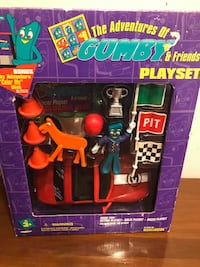 The Adventures of Gumby and Friends Playset BNIB  VIEW MY OTHER ADS!!!  Toronto