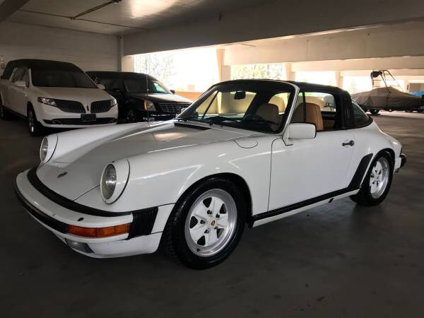 Porsche Targa For Sale >> 1984 Porsche 911 Carrera Targa For Sale Grand Prix White Over Tan Interior 166k Miles On The Original 3 2 Engine Nice Paint And Body Some Paint