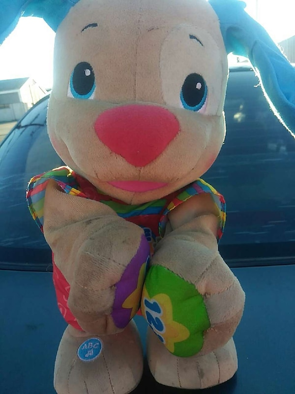 Used Fisher Price Laugh Learn Love To Play Puppy For Sale In