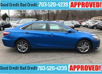 blue 5-door hatchback Woodbridge