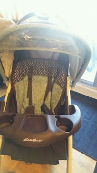 baby's black and gray car seat carrier Toronto, M4C 5L7