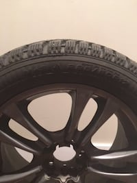 Nissan 350z Winter Tires with Custom Rims VANCOUVER