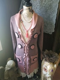Pretty Cardigan , dusty rose color St. Albert, T8N 3V6