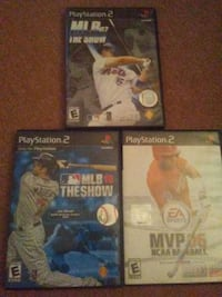 three assorted Sony PS4 game cases Queensbury, 12804