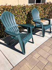 Patio Furniture: Adirondack Stackable Chairs & Table