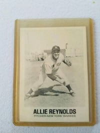 1977 TCMA Allie Reynolds New York Yankees Baseball Card Emmaus, 18049