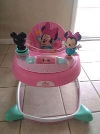 baby's pink and green Minnie Mouse walker El Paso, 79930