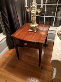 Wood End Table FALLSCHURCH