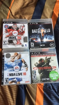 PS3 games Pickering, L1X 2W9