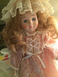 white and pink dressed doll Phoenix, 85033