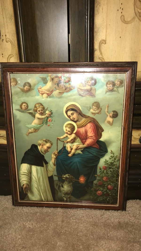 Beautiful Religious framed Picture