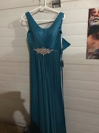 Blue ball gown new with tags  2870 km