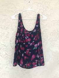 Forever 21 flower tank top - large Pittsburgh, 15208