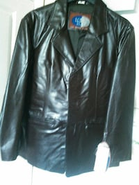 black leather zip-up jacket El Cajon, 92020
