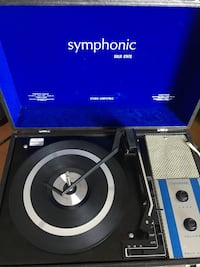 Record player amplified Symphonic