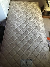 quilted gray and white floral mattress South Park, 15129