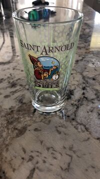 Saint Arnold's Pint Beer Glass Pearland, 77581