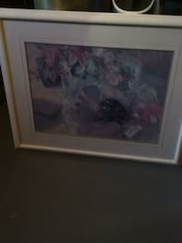 white and pink flower painting Innisfil, L9S 2L2