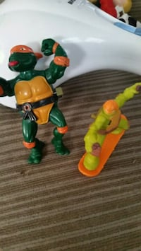 green and orange plastic toy Hamilton